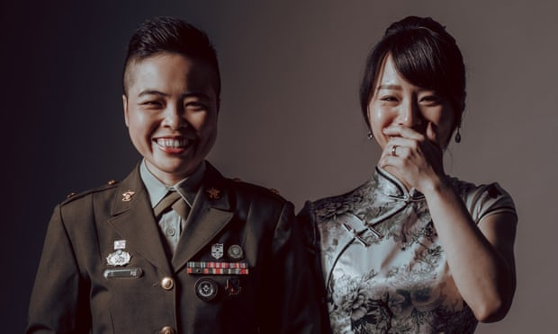 Taiwanese military mass wedding to feature its first same-sex couples