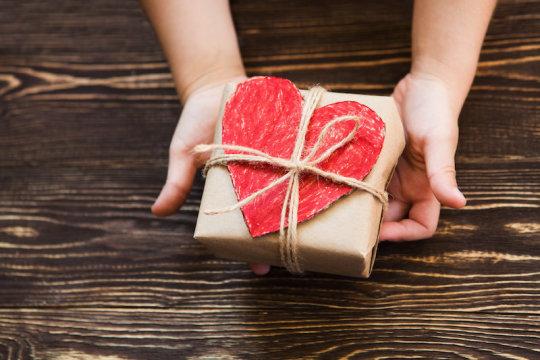 Is it better to give than receive?
