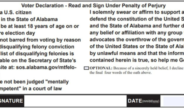 Freedom From Religion Foundation drops lawsuit after Alabama amends 'so help me God' voter oath
